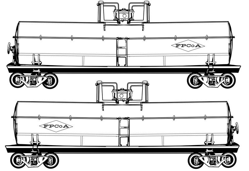 railroad freight cars coloring pages - photo#11