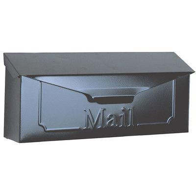 Solar Group Wall Mounted Mailbox Wall Mount Mailbox Mailbox Cool Walls