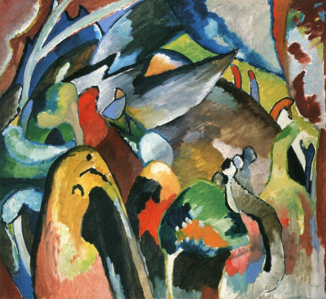 Wassily Kandinsky — Nude, 1911
