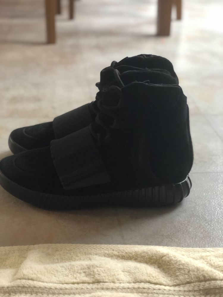 73bce175582 Adidas Yeezy Boost 750 BLACK size 8  fashion  clothing  shoes  accessories