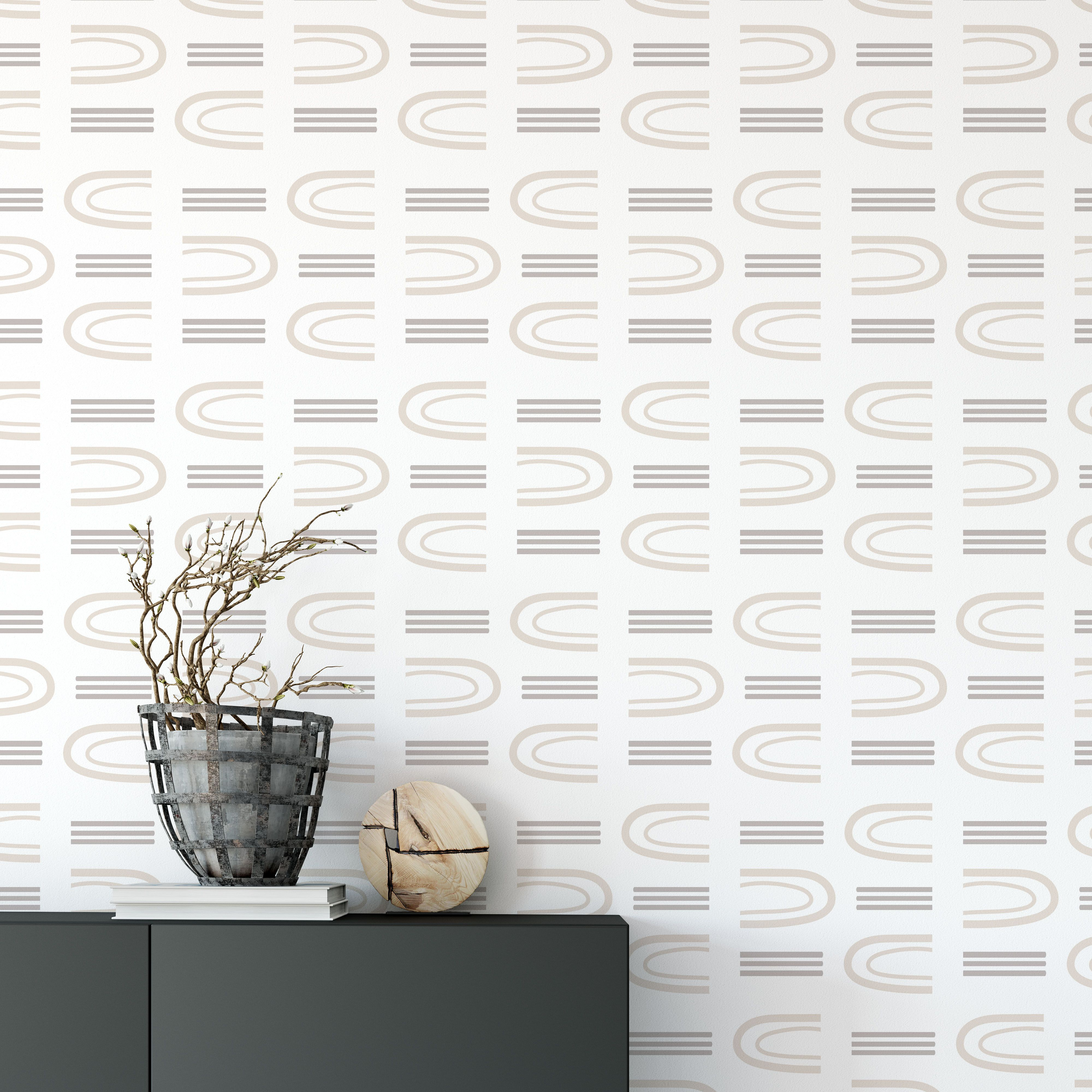 Arch Way How To Install Wallpaper Archway Peel And Stick Wallpaper