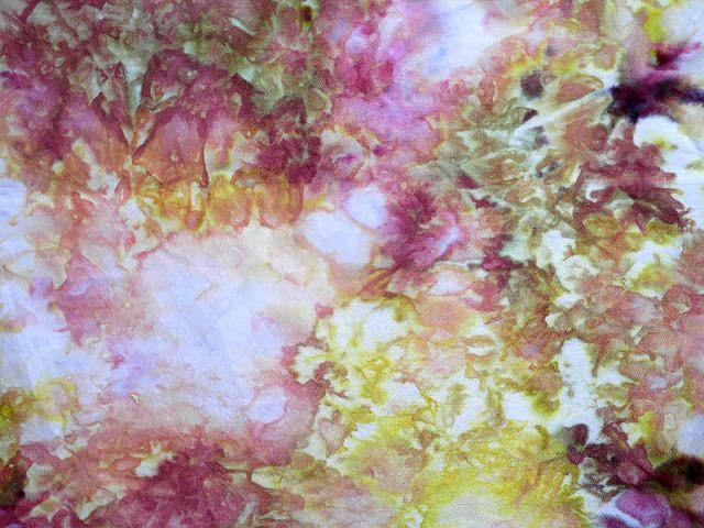 Lisa Kerpoe: More Ice Dyeing