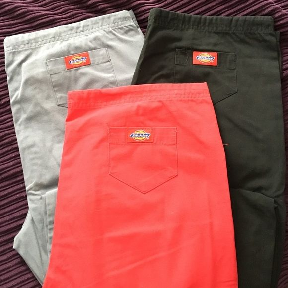 7122d974a56 Dickies style number 107295 scrub pants! Slightly faded as they have been  pre loved but decent workwear condition! Buy all 3 pairs in ...