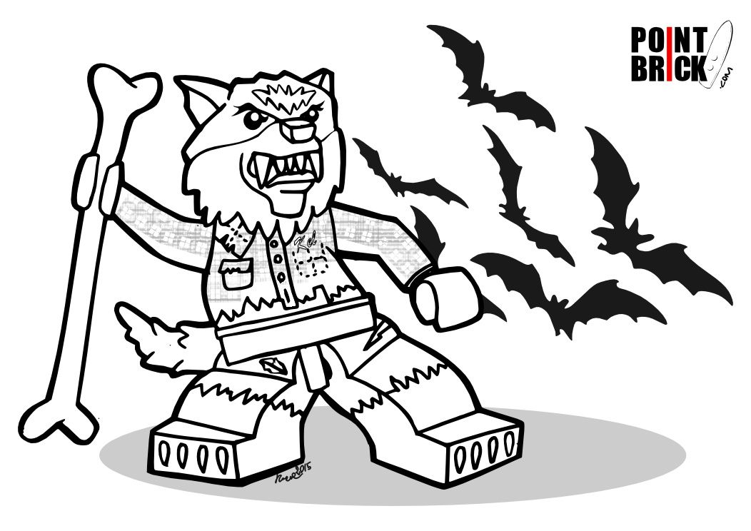 Disegni da Colorare LEGO: Halloween Monsters!   Legos and Crafts
