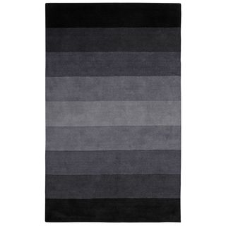 Shop for Black to Grey Stripes Rug (8' x 10'). Get free shipping at Overstock.com - Your Online Home Decor Outlet Store! Get 5% in rewards with Club O!