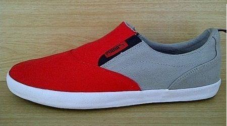 Kode Sepatu Puma Slip On Grey Red Ukuran Sepatu 41 42 Harga