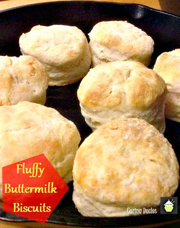 Fluffy Buttermilk Biscuits Home Made Simple Regular Ingredients And Very Easy To Make Serve With A Biscuit Recipe Best Homemade Biscuits Homemade Biscuits