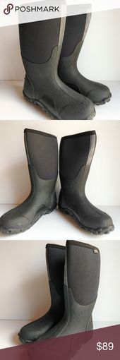 Genuine Bogs Waterproof Boots Mens Sz 8 Black B002-090919-NC 100% waterproof. 4-#design #model #dress #shoes #heels #styles #outfit #purse #jewelry #shopping #glam #love  #amazing  #style  #swag