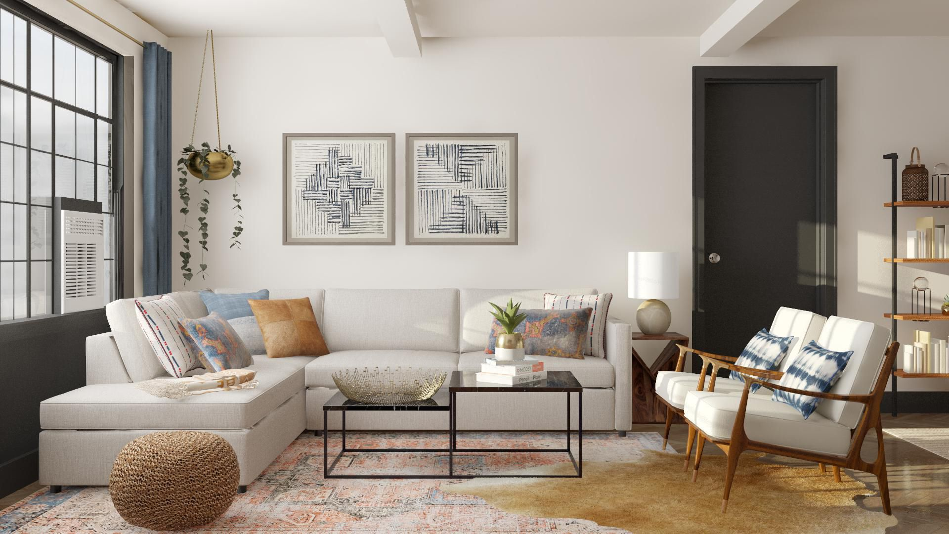 One Brooklyn Apartment Two Ways A Cup Of Jo Living Room Decor Apartment Interior Design Brooklyn Apartment
