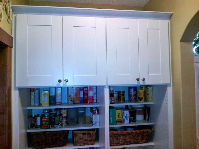 Walk through Pantry | Ikea hack, Pantry and Cheap shelves