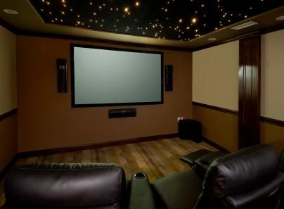 Home Theater Rooms Design Ideas. 1000 Images About Family Room Theater On  Pinterest Home Theater