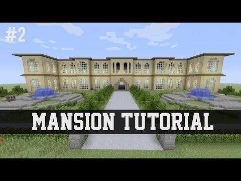 minecraft mansion tutorial step by step
