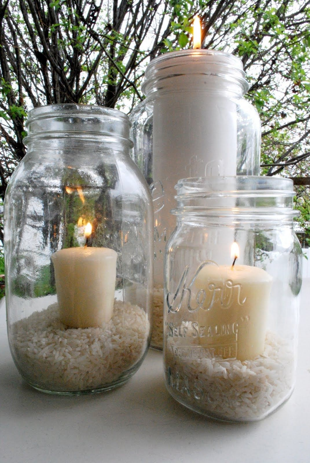 I am also slightly obsessed with canning jars. Decorating IdeasCraft ... & So simple. I am also slightly obsessed with canning jars. | Home n ...