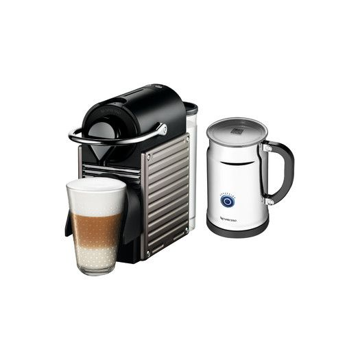 Nespresso Originalline Pixie Espresso Maker With Aeroccino Plus