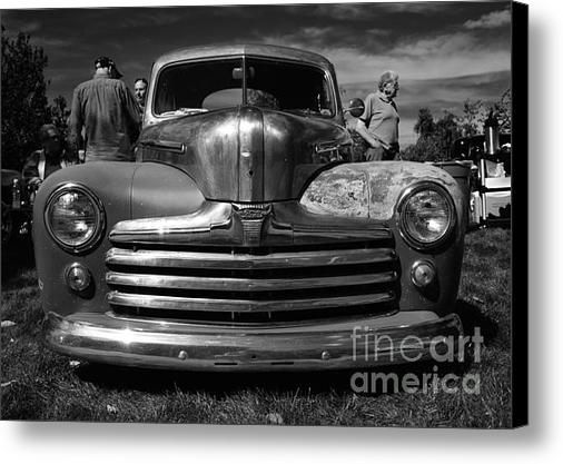 Classic Cars - Ford Front End Canvas Print | Wall Art - Canvas