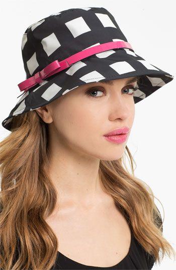 4b3190f7f7d kate spade new york printed bucket hat