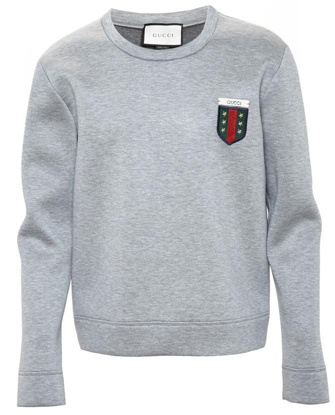 5c0024970e2 GUCCI Crest Logo Sweatshirt.  gucci  cloth