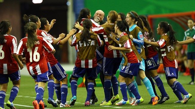 Paraguay Kept Alive Their Place In Fifa U 20 Women S World Cup With A 2 1 Win Over Costa Rica Fifa Women S World Cup World Cup