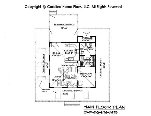 Tiny country cottage house plan sg 676 sq ft affordable for 700 square feet house
