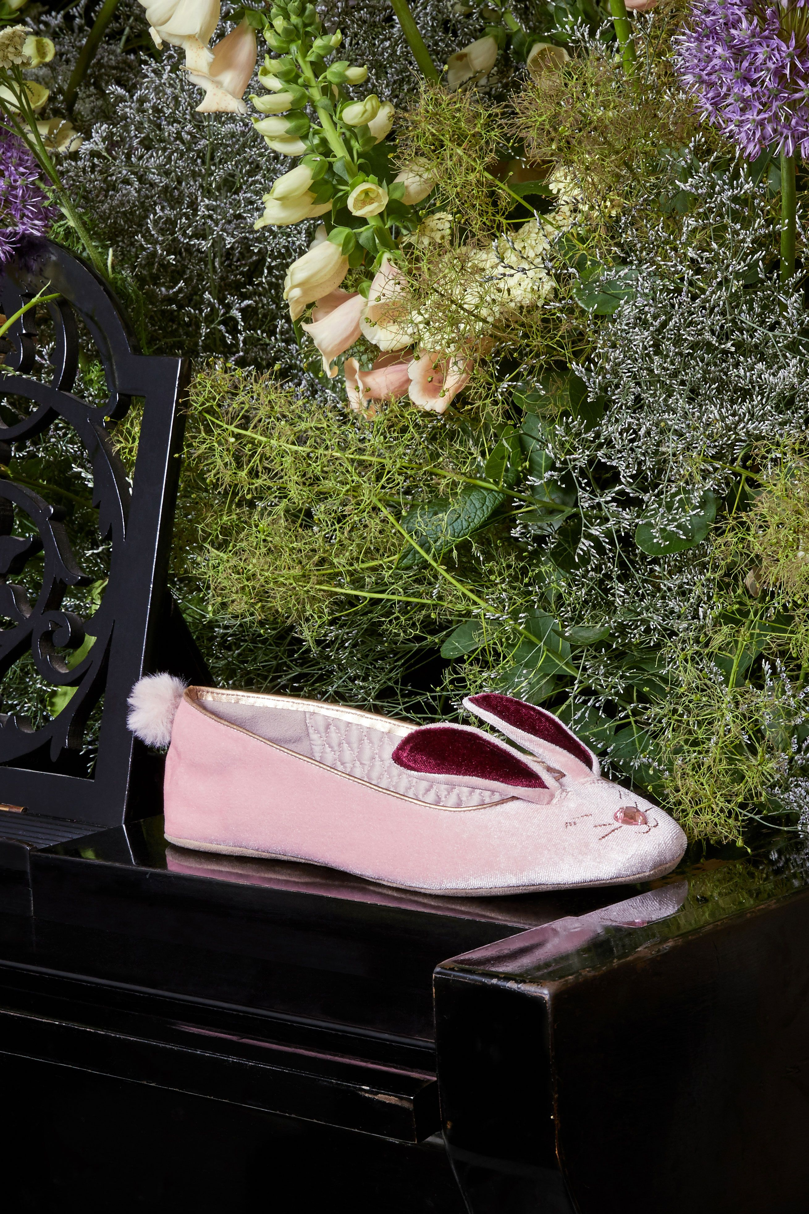 193ca8e0f7774c Ted s BHUNNI slippers make an ear-resistible addition to your bedtime  routine. This velvet
