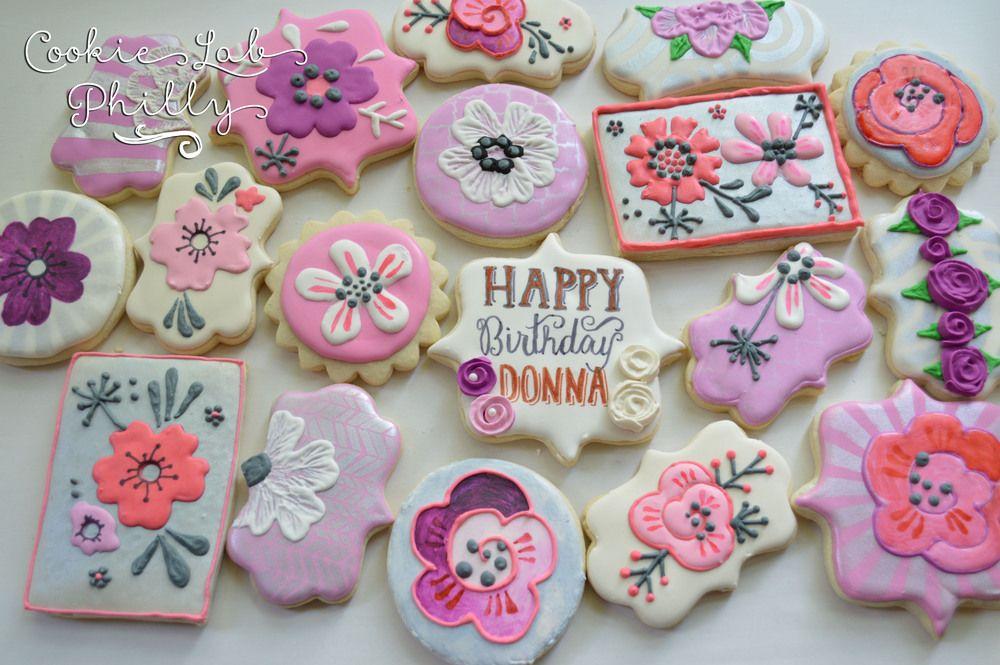 birthday cookies Cookie decorating, Birthday cookies