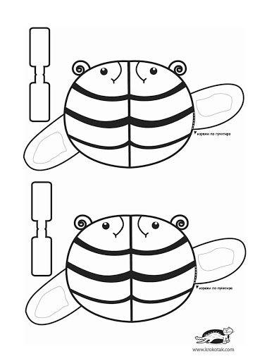 moldes krokotak - cartulina y otros