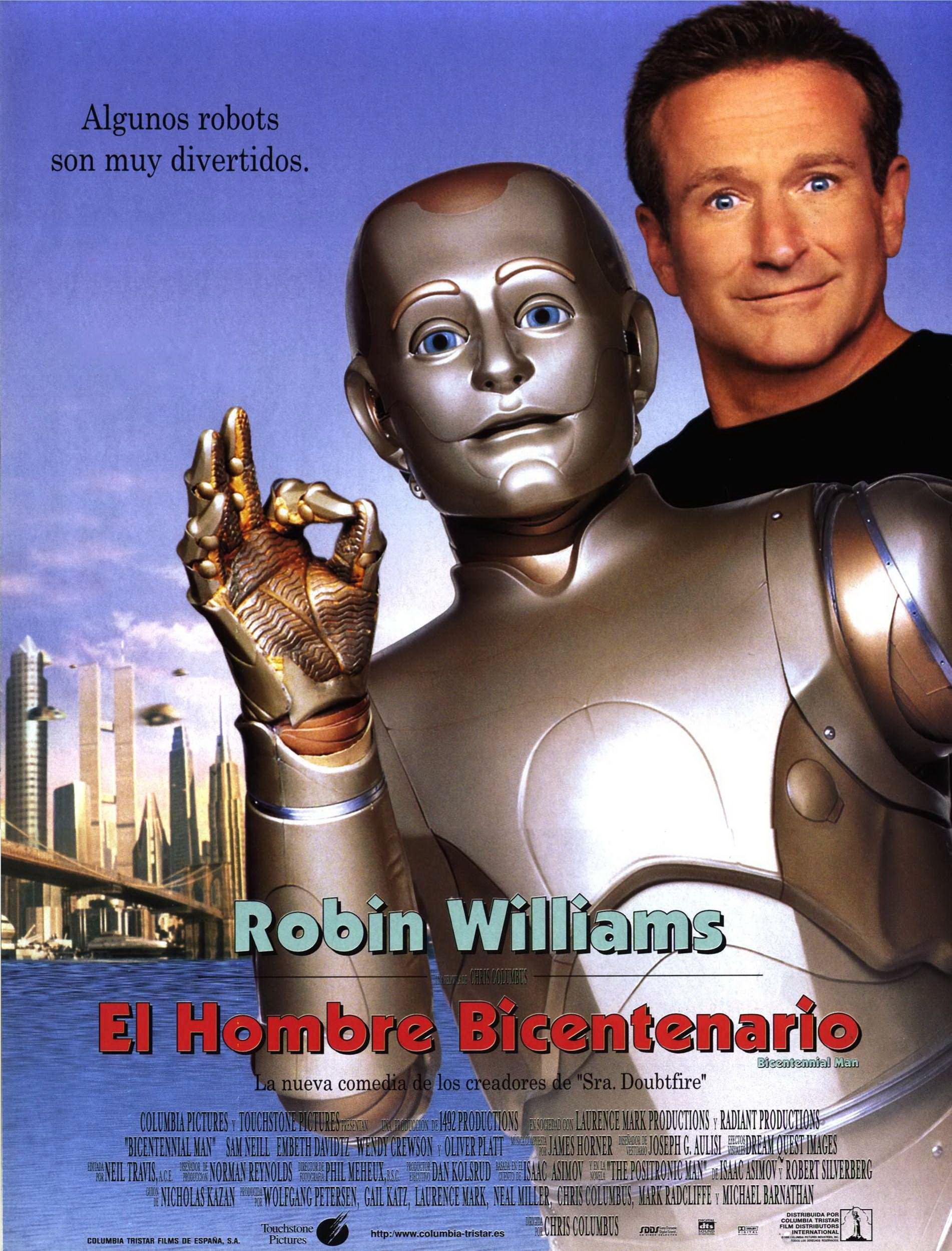 El Hombre Bicentenario Peliculas Cine Portadas De