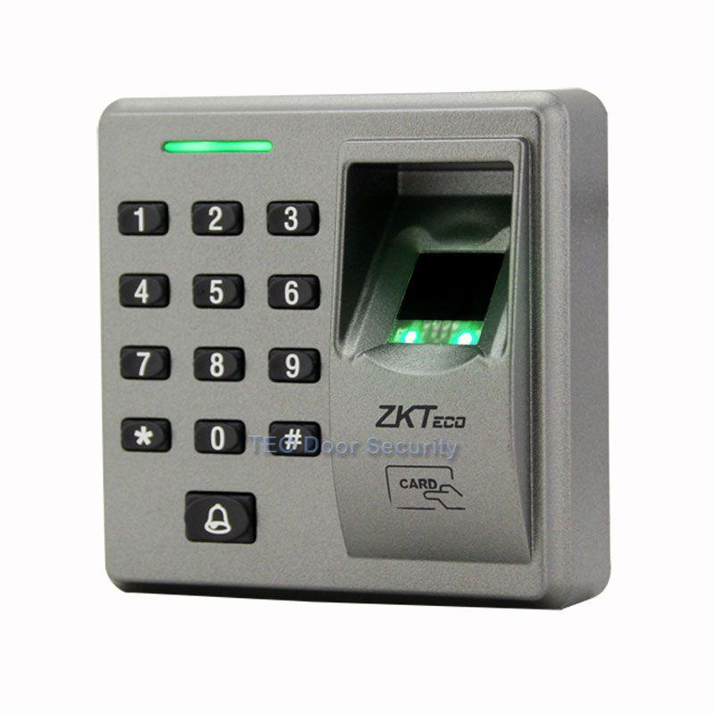 RS485 Slave Reader ZK FR1300 Support Fingerprint + RFID + Keypad