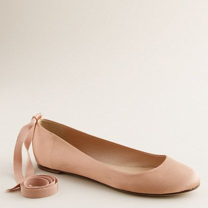 b785497b8 Paulina ankle-tie ballet flats - AllProducts - nullsale - J.Crew ...