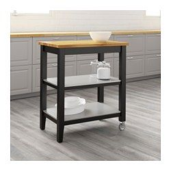 IKEA   STENSTORP, Kitchen Cart, Gives You Extra Storage, Utility And Work  Space.Two Fixed Shelves In Stainless Steel, A Hygienic, Strong And Durable  ...