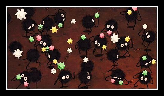Soot Sprites Spirited Away Studio Ghibli Spirited Away Spirited Away Soot Sprites Ghibli Tattoo