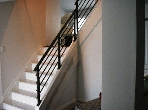 Best Going Horizontal On Staircase Black Staircase Stair 400 x 300