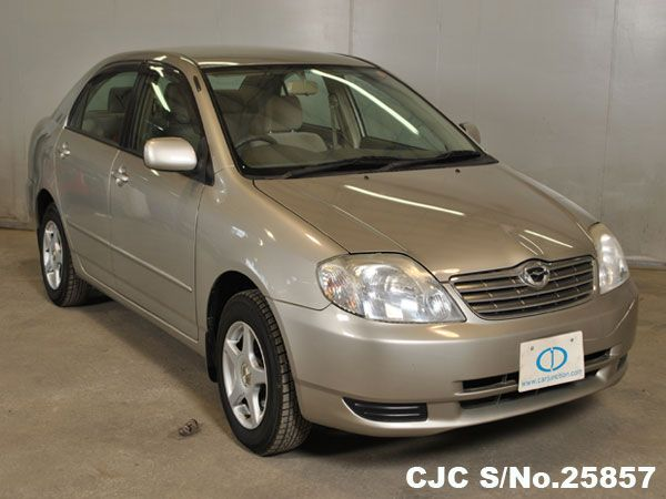 2002 toyota corolla s no 25857 chassis nze121 grade 3 5 good condition type sedans mileage 57754 km en toyota corolla japanese used cars toyota toyota corolla japanese used cars