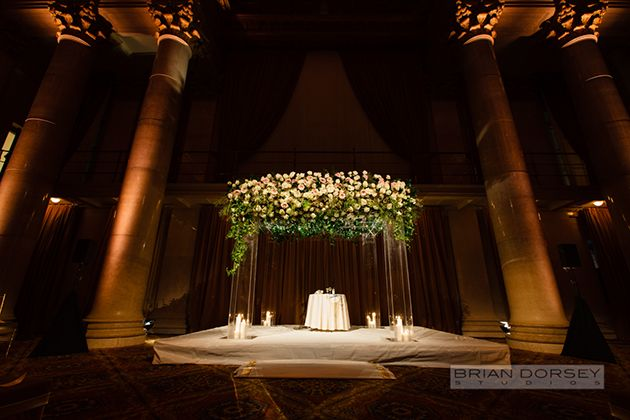 One Couple's Classic-Meets-Modern Wedding at Cipriani Wall Street in New York