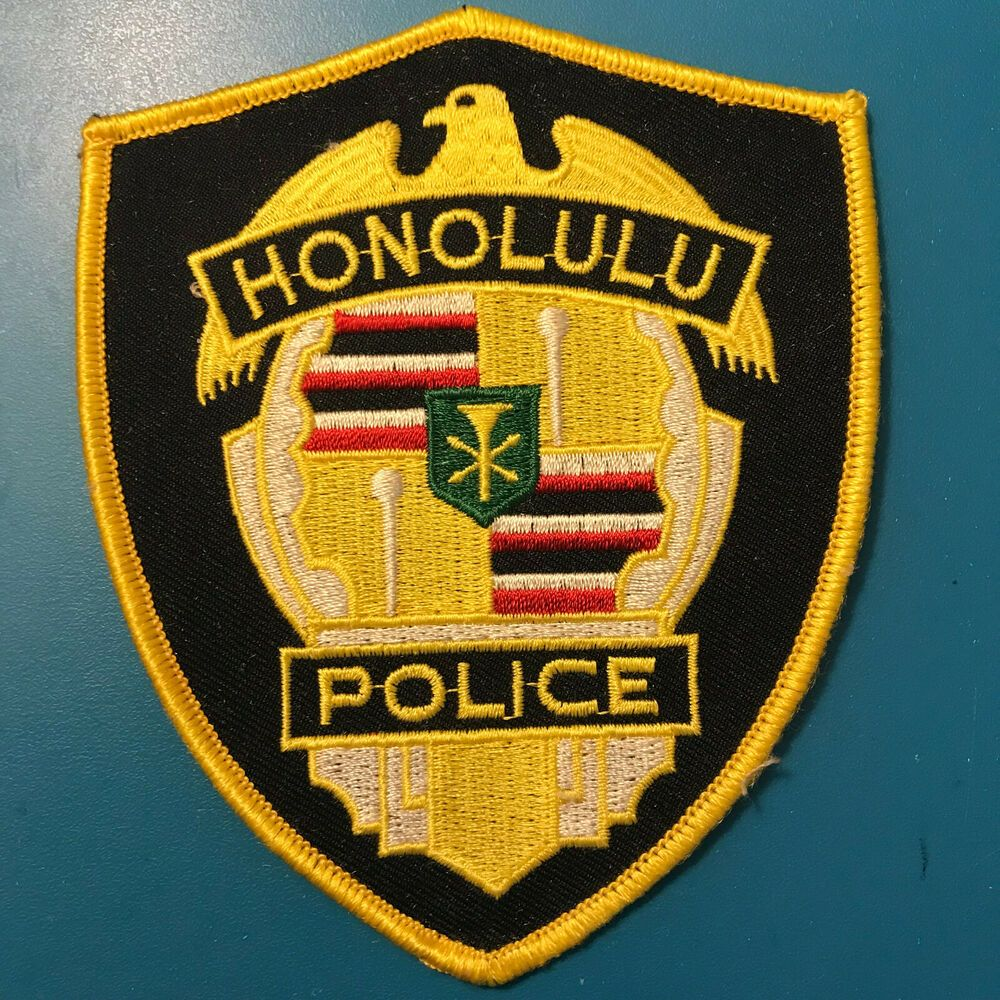 Honolulu Police Hawaii HI Patch | Police & Sheriff Patches