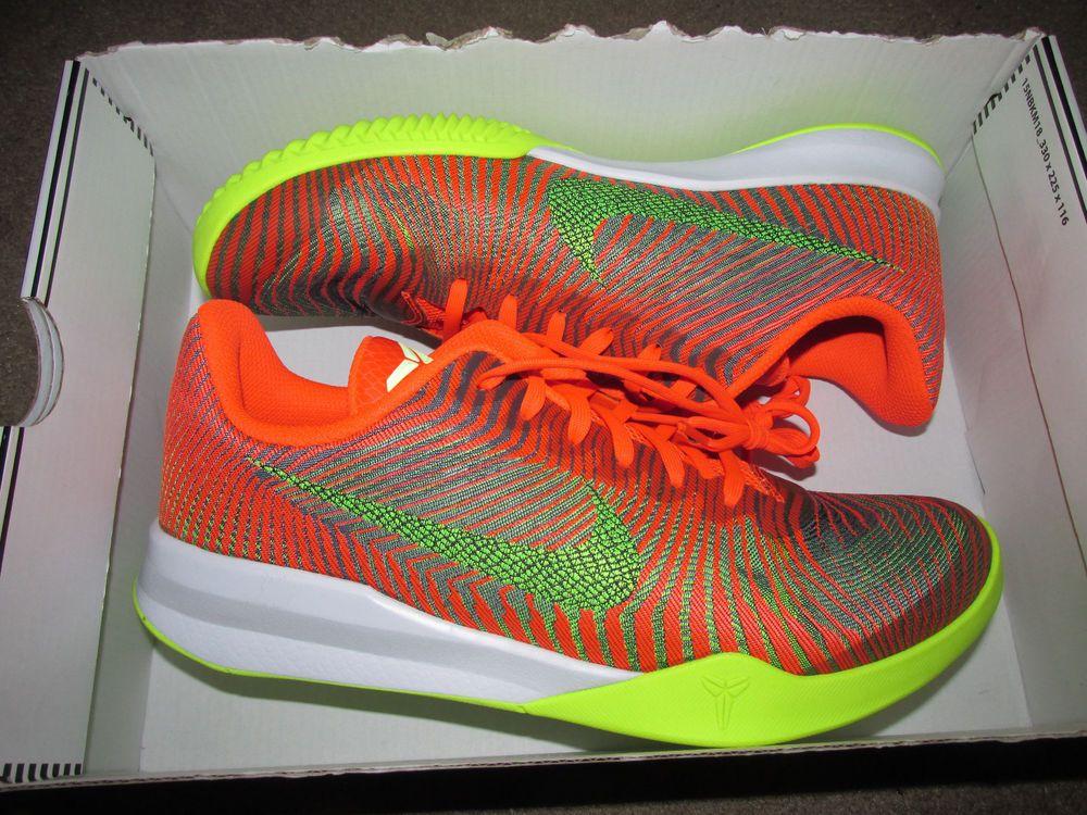 6b3cbde4dc7a Nike KB Mentality II 2 Mens Low Basketball Shoes 9 Total Crimson 818952 800  KOBE  Nike  BasketballShoes