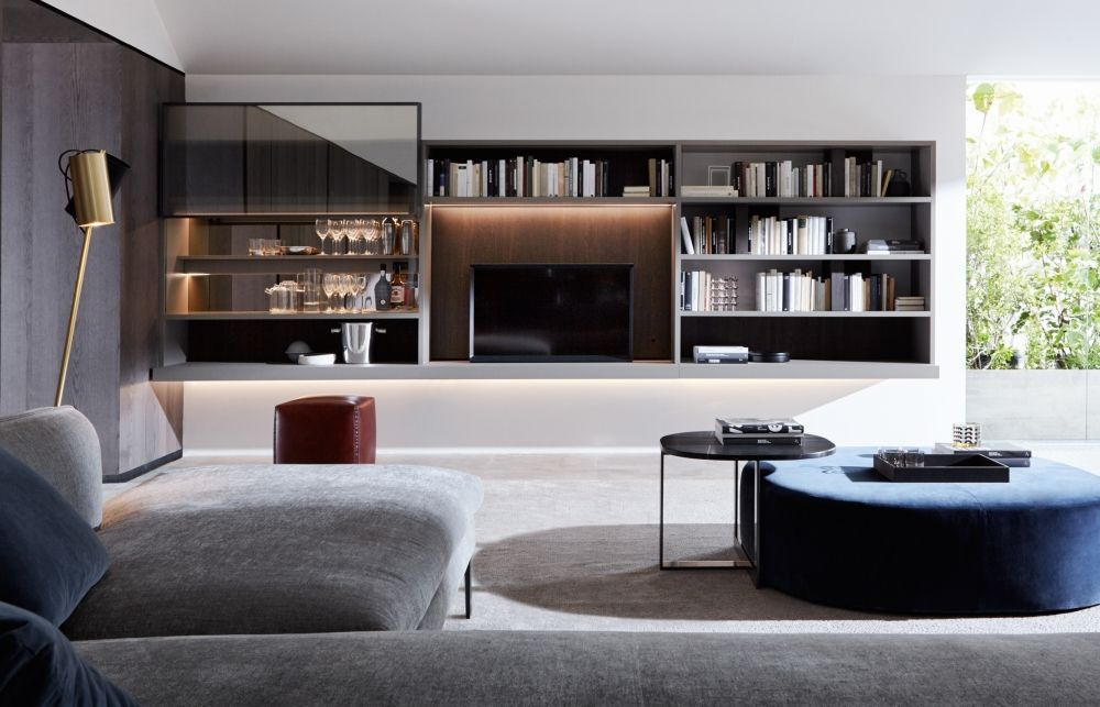 Mobili Living Molteni.Flexibility And Functionality Is The Basis Of The 505