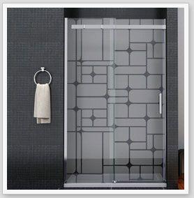 Mampara ba o ducha vinilo para ba o vinilos para ba o - Vinilos decorativos cristal ducha ...