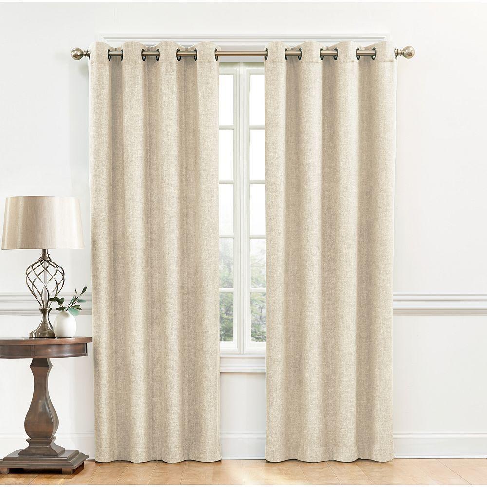 Chiffon Curtain Panels Ivory Wedding