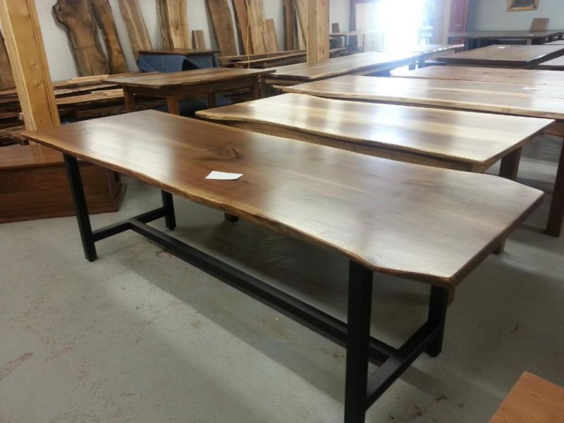 Live Edge Walnut, Cherry, Harvest Tables, One Ad, Lots Of Tables