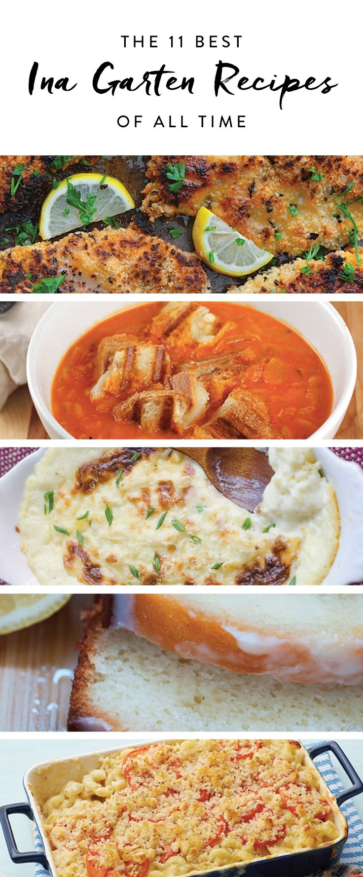 These are Ina Garten's best recipes ever. Add these to your cooking repertoire now.