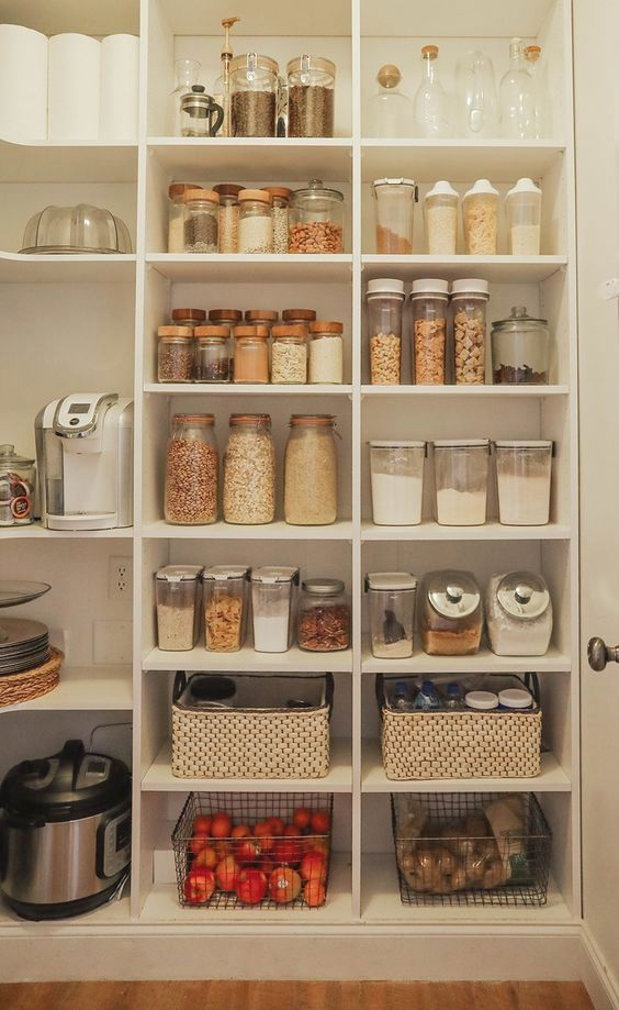 30 Neat Kitchen Pantry Organizers For Neat Freaks With Images Kitchen Pantry Design Kitchen Organization Pantry Pantry Design
