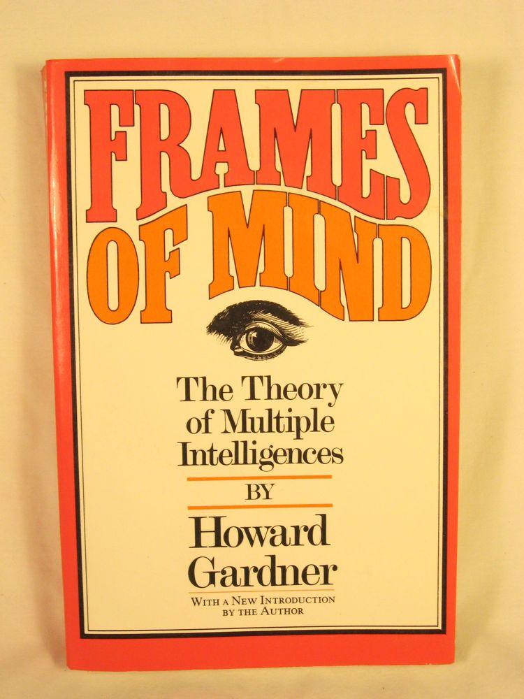 Frames of Mind The Theory of Multiple Intelligences Howard Gardner Paperback #Textbook