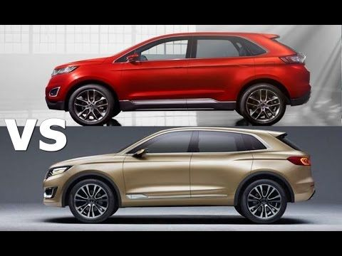Lincoln Mkx Vs  Ford Edge Exterior Interior Drive Youtube