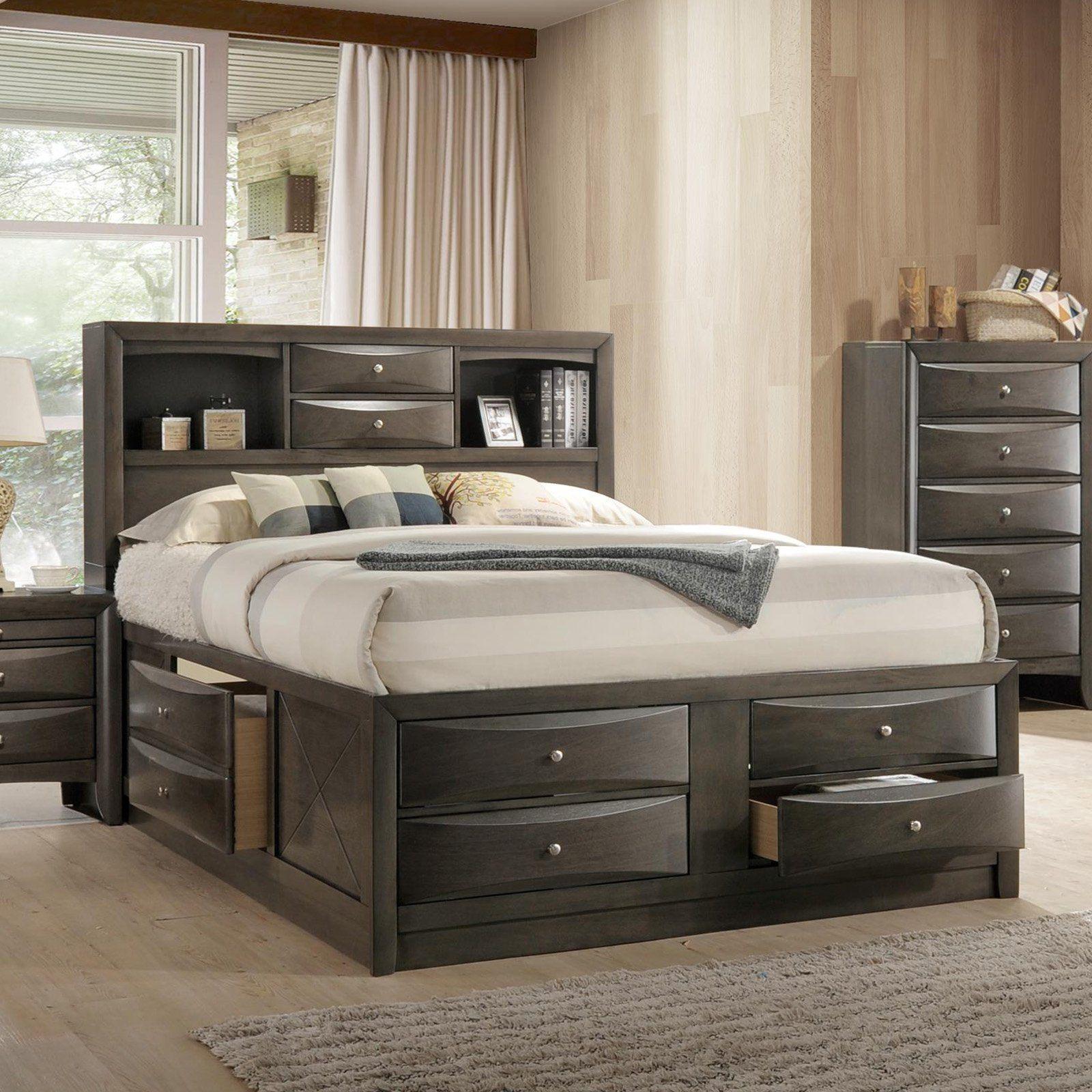 Acme Furniture Ireland Platform Bed in 2020 Storage bed