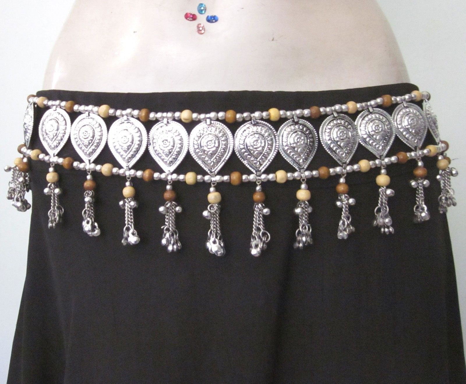 Tie BELT Gypsy Boho Hippie Festival Cosplay Belly Dance Skirt Costume Accessory
