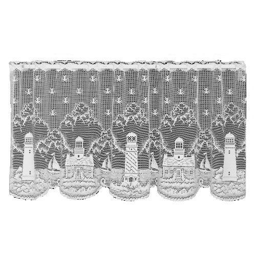 Heritage Lace Lighthouse 60 Inch Wide By 30 Inch Drop Tier