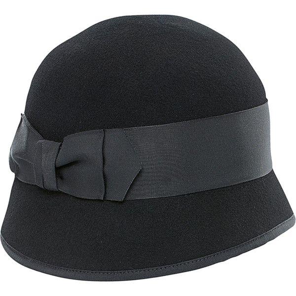 9c2390bc107 San Diego Hat Company Womens Wool Felt Bow Cloche (352794202) ( 179 ...
