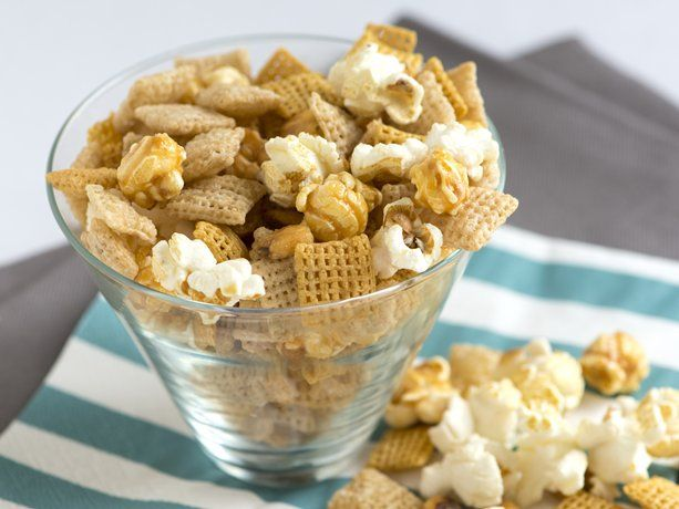 Sweet And Salty Popcorn Chex Mix Recipe Snack Mix Recipes Chex Mix Recipes Sweet Chex Mix