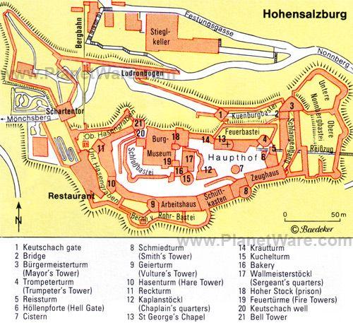 Hohensalzburg Floor Plan Map Places I've Been Would Return: Salzburg Austria Map At Slyspyder.com